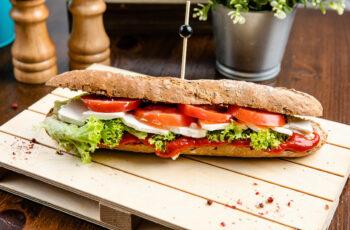 Mediterrán szendvics