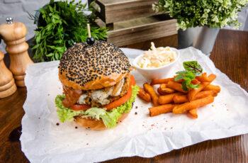 Vegán BBQ&Bacon Cheeseburger