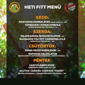 Fitt&Vegan menü